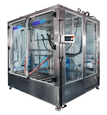 Rain Simulation Chambers